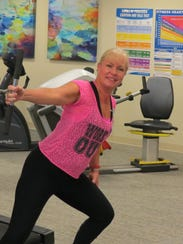 Lantern Hill's fitness coordinator, Melissa Sullivan,
