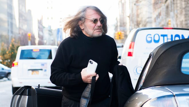 Dr. Harold Bornstein, personal physician to Donald Trump, arrives at his office at 101 East 78th Street on Dec. 15, 2015.