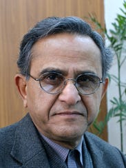 """Dr. A. H. Nayyar will speak at the """"For a better, safer"""