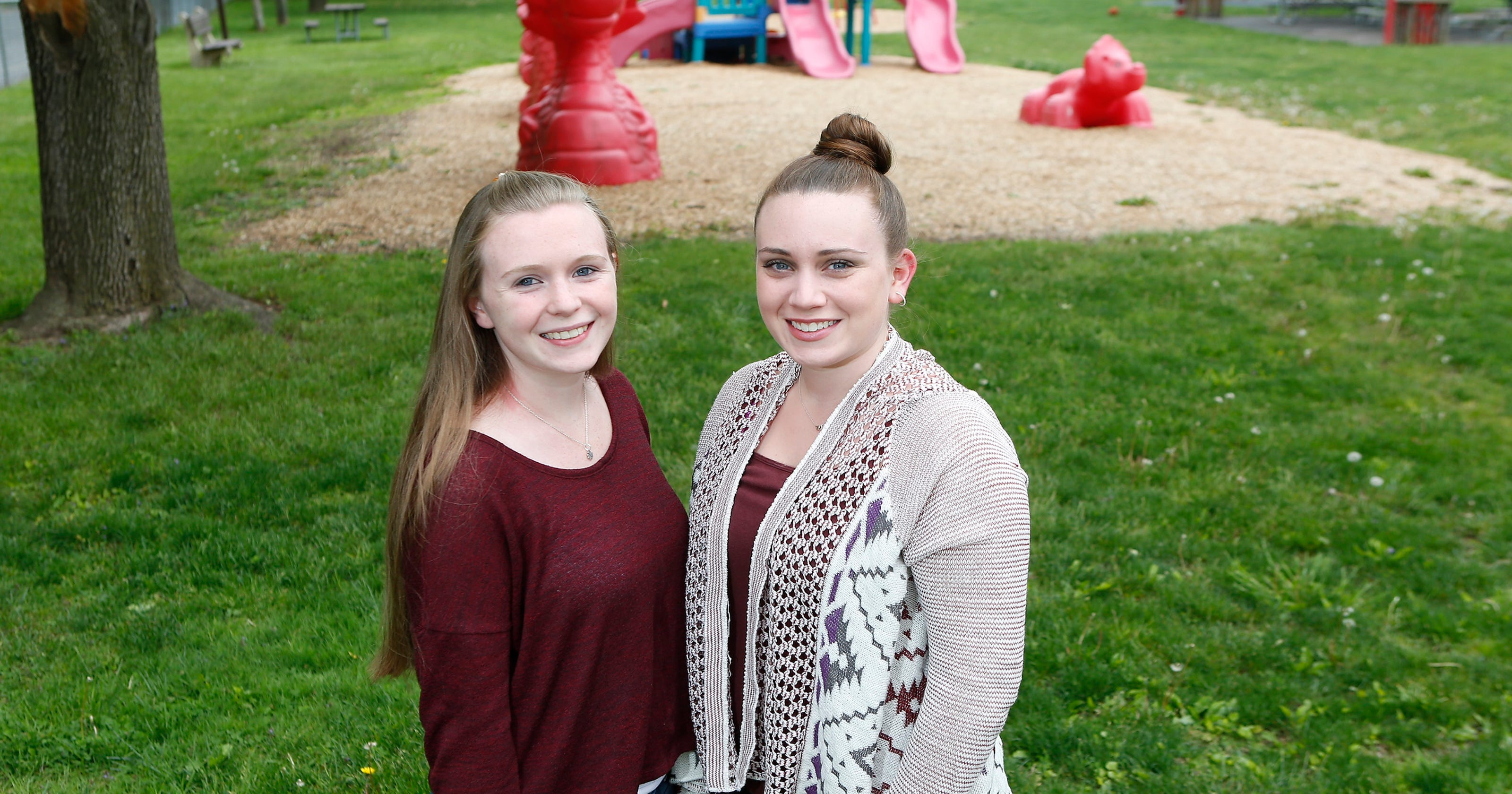 915fbc399 Rockland s Casey sisters help make parks more inclusive