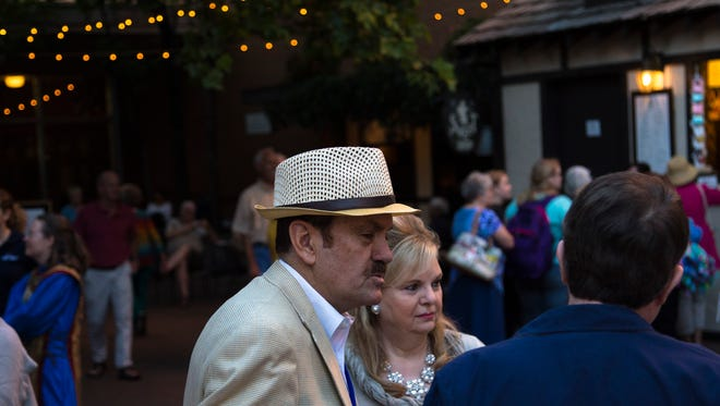 Executive Director R. Scott Phillips outside the Adams Theatre, Thursday, Sept. 3, 2015.