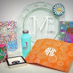 Dee's now monograms your favorite items starting at $5.