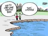 Marshall Ramsey's July cartoons