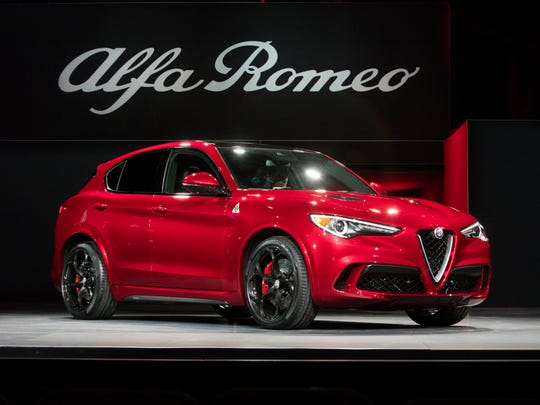 The 2018 Alfa Romeo Stelvio was revealed at the 2016