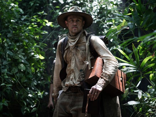 Charlie Hunnam in a scene from 'The Lost City of Z.'