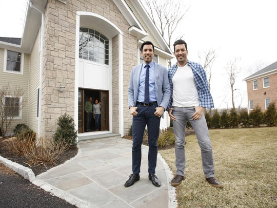 Drew and Jonathan Scott filmed a Chase commercial  at this White Plains home on Scott Circle.