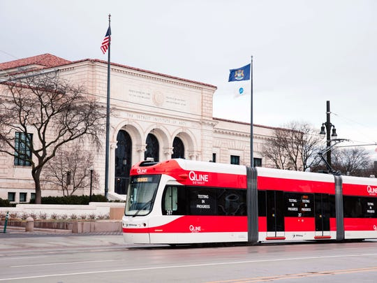 Hop off the QLine at Ferry Street and you'll be in the heart of Detroit's cultural center.