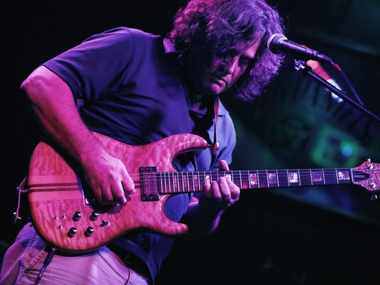 Tom Marcellis of the Tom Marcellis Band, a jam band that plays improvised music, original songs and covers of Bob Marley, Widespread Panic, The Grateful Dead, Santana and more.