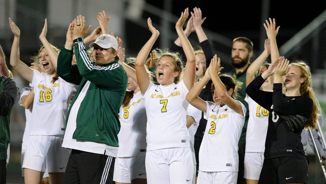 Reynolds won the Mountain Athletic Conference girls soccer championship.