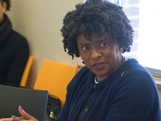 City Treasurer Velda Jones-Potter