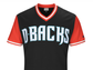 The front of the D-Backs' uniform for Players Weekend.