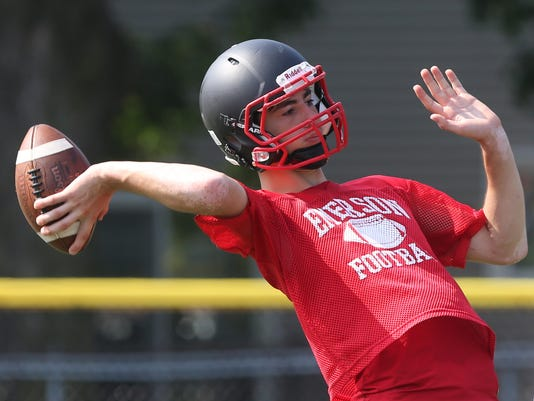 Emerson High School Football Practice --