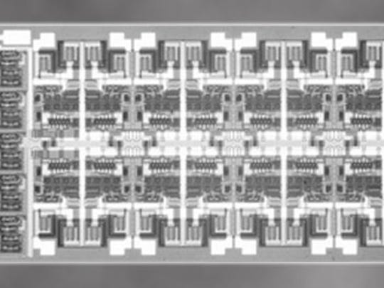 Radiation-hardened microcircuits like this from Northrop Grumman are the center of a federal criminal case accusing a Union, Ky., couple of illegally selling the microcircuits to China.