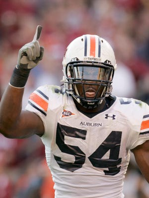 Quentin Groves during his time at Auburn in 2006.