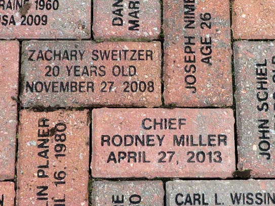 The names of Zachary Sweitzer and Rodney Miller, both