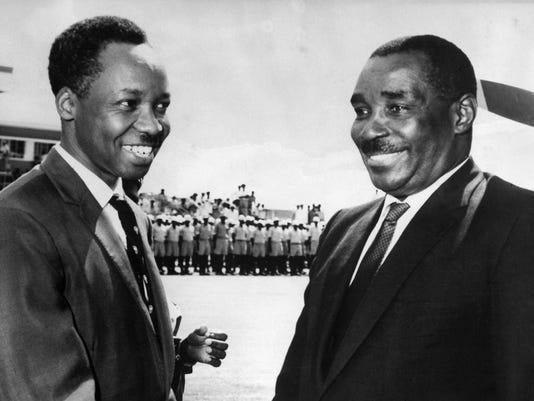 Abeid Amani Karume; Julius Nyerere