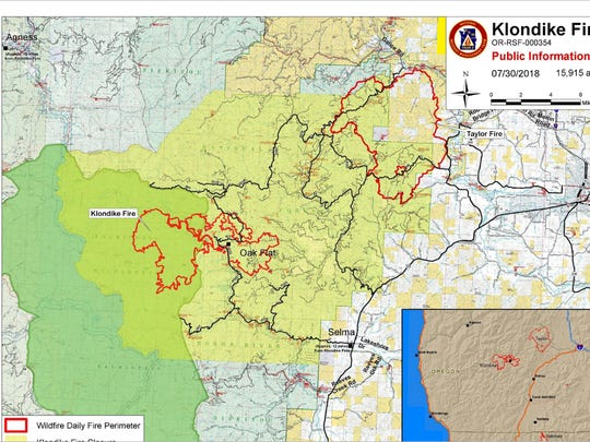 Taylor Creek Fire Now 25 000 Acres Creeps Toward Iconic Rogue River