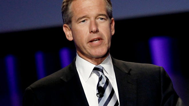Matt Sayles,  AP Brian Williams will step down from NBC Nightly News temporarily. Brian Williams will step down from 'NBC Nightly News' temporarily while the network investigates his account of a 2003 helicopter mission disputed by others.