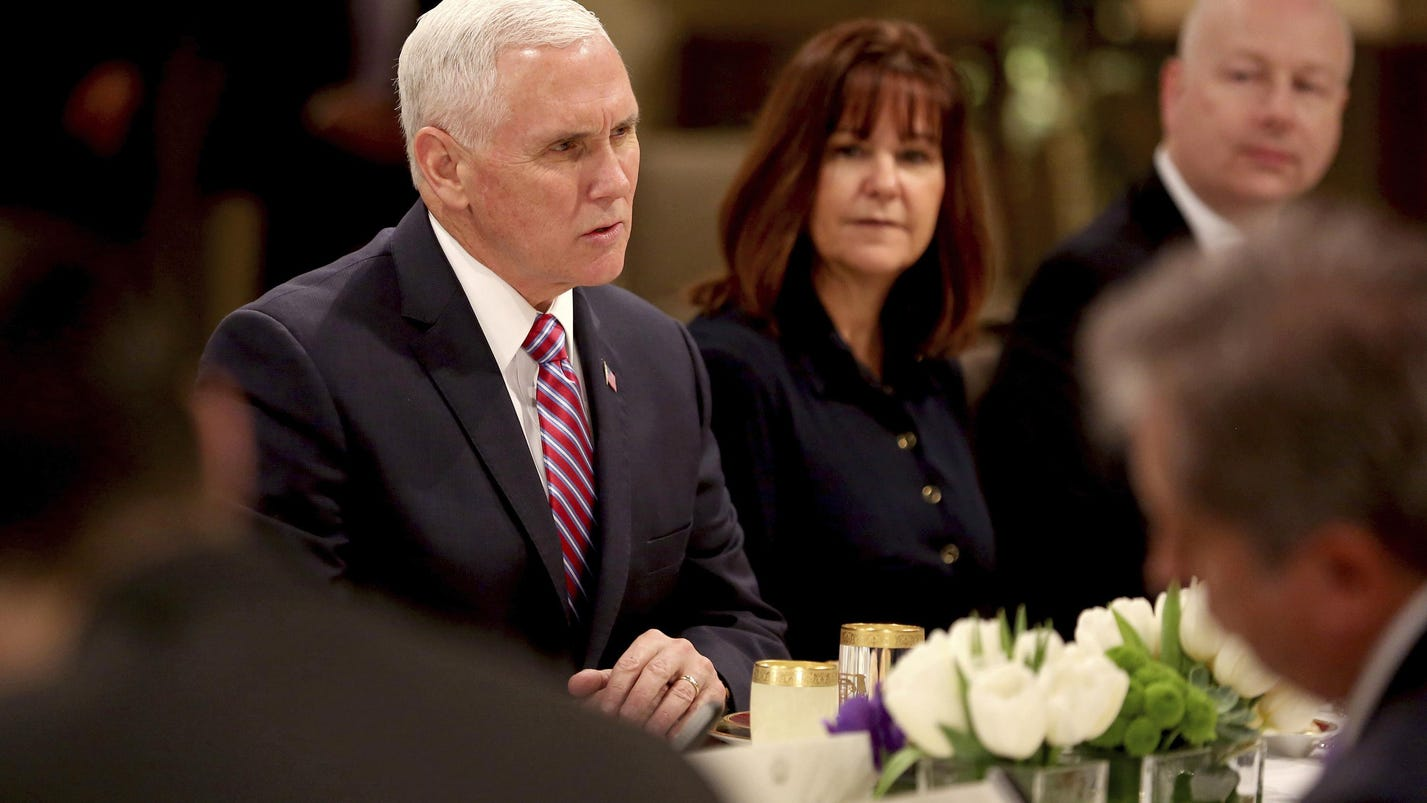Pence: Congress playing politics with military pay