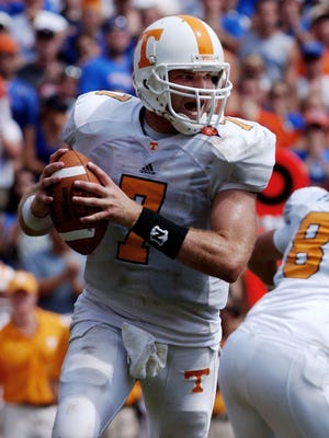 Casey Clausen is the last Tennessee quarterback to lead the Vols to victory in Gainesville — in 2003.