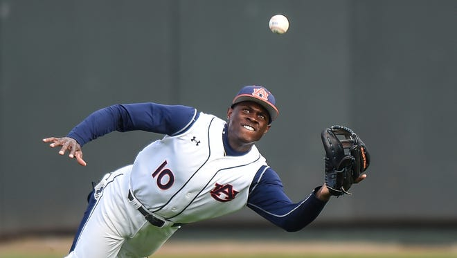 Anfernee Grier brings his glove and a 14-game hitting streak into the MAX Capital City Classic.