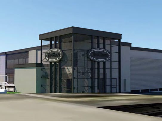A rendering of Naples' first Yard House restaurant