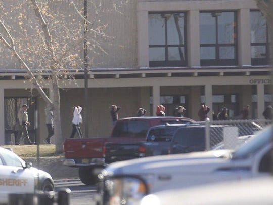 A school shooting at Aztec High School in New Mexico