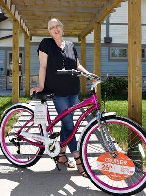 Cathy Bernier Myers of Highmore is getting treated for breast cancer at Avera McKennan Hospital. During one of her treatments new bike was stolen.  Sioux Falls-based nonprofit called Operation Addy surprised her with a new one over the weekend.