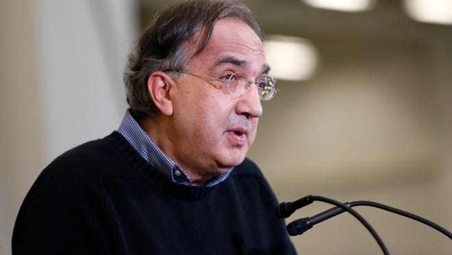 Fiat Chrysler Automobiles CEO Sergio Marchionne is not a big fan of the economics of his company's electric car.