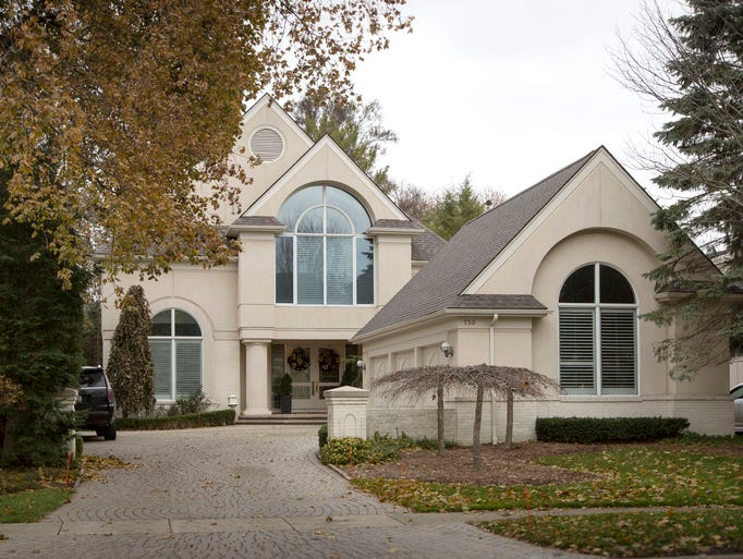 The contemporary house, built in 1991, is walking distance