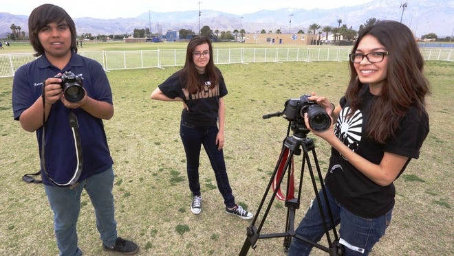Palm Springs Unified students learn to integrate digital storytelling into their education through DIGICOM.