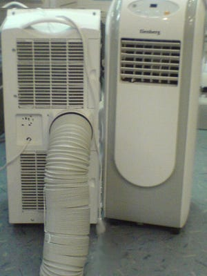 When considering a portable vs. window air conditioner, keep in mind that either can save you money by supplementing a central air conditioning system.