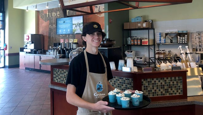 Caribou Coffee will have a counter inside the Festival Foods on Northland Avenue in Appleton.