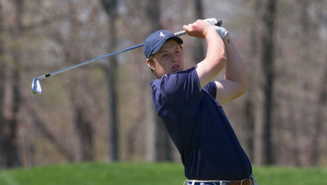 CBA's Jack Wall captured the Monmouth County Tournament on Tuesday with an even-par 72 at Howell Park Golf Course.
