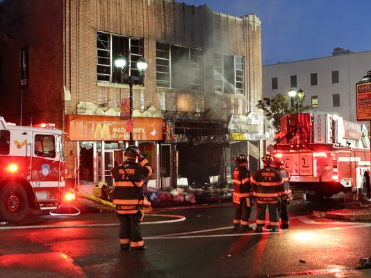 Yonkers fire Getty Square