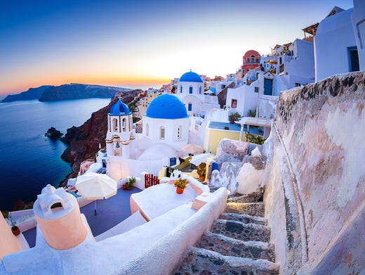 Photo tour: The magical island of Santorini, Greece