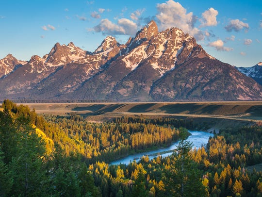 The Snake River in Wyoming.