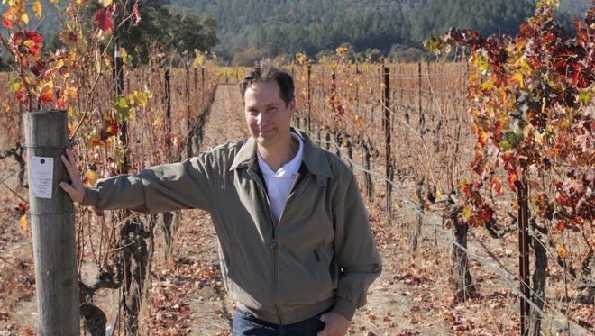 Steve Leveque, director of winemaking for Napa Valley's Hall Wines.