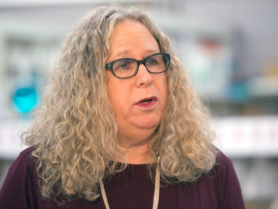 Dr. Rachel Levine, state physician general, speaks