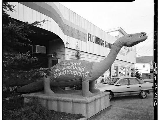 A previous incarnation of the Bayville dinosaur
