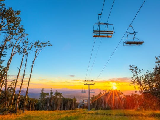Arizona Snowbowl's summer season opens July 13, 2018.