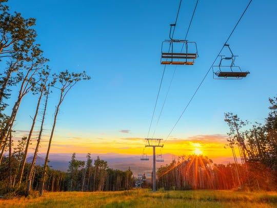 Arizona Snowbowl's summer season opens July 13, 2018.