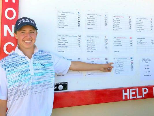 golfer Jake Butkiewicz