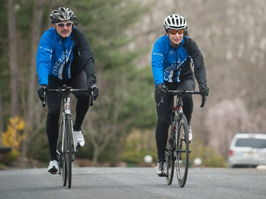 Glenn and Penny Page of Voorhees are among the founding members of Cynergy Cycling, a bicycling club dedicated to improving cycling safety. Glenn certifies cycling leaders, and is among a team of three cyclists advising New Jersey's new driver education program on cycling awareness for drivers.