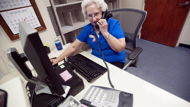 Pensacola resident Barbara Herrmann, 78, has spent most of her adult life as an America Red Cross volunteer. For 47-years, Herrmann has been a fixture in the orthopedics department at Pensacola Naval Hospital.
