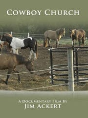 """The """"Cowboy Church"""" DVD will premiere at the Christian Film Festival in Newport News, Virginia, on Dec. 31."""