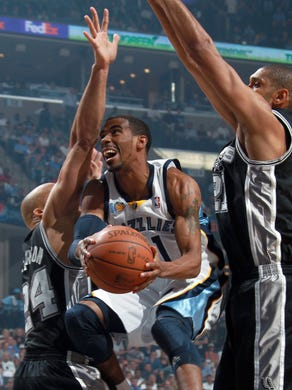 April 25, 2011 -   Memphis Grizzlies guard Mike Conley