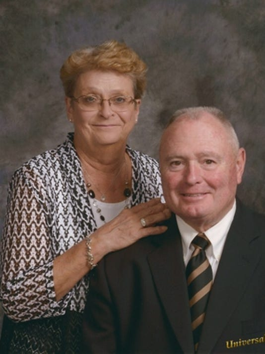Anniversaries: John Sanderson & Elizabeth Sanderson