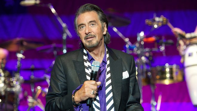 Al Pacino performs with the band Chicago In Concert in 2013 in Los Angeles.