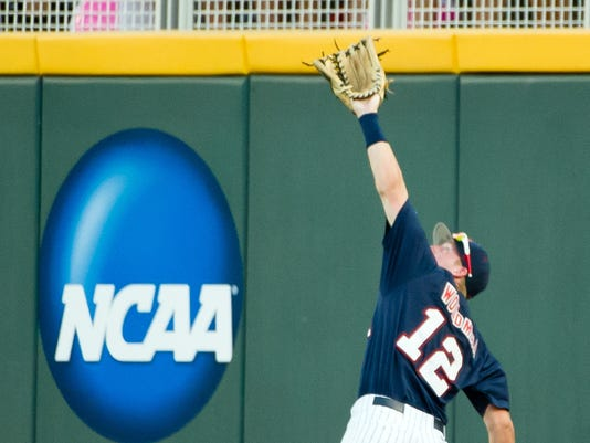 NCAA Baseball: College World Series-Mississippi vs TCU
